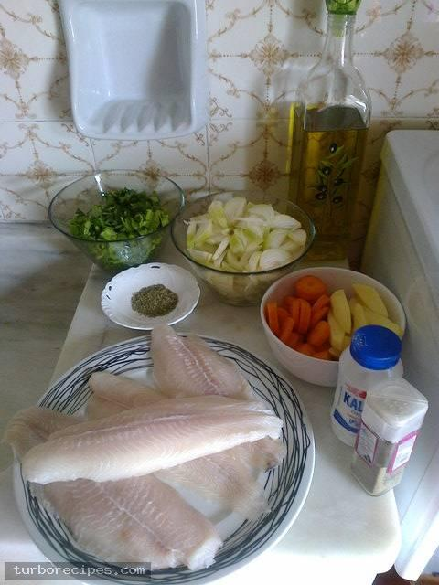 Φιλέτα βακαλάου στο φούρνο - Υλικά συνταγής