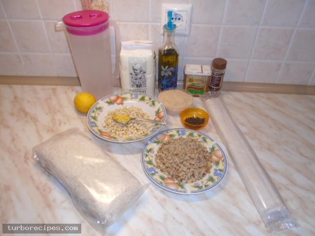 Γιαννιώτικο κανταΐφι νηστίσιμο - Υλικά συνταγής