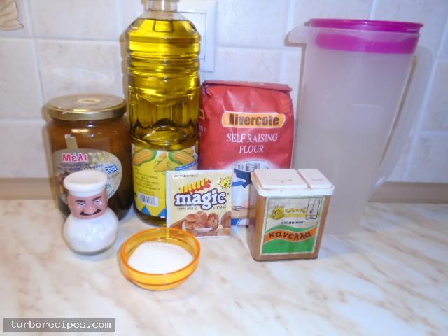 Σπιτικοί λουκουμάδες - Υλικά συνταγής