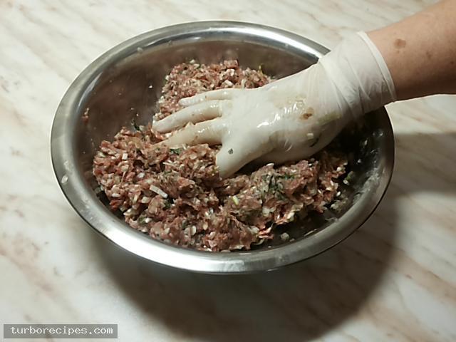Ντολμαδάκια με κιμά και αμπελόφυλλα - Βήμα 11