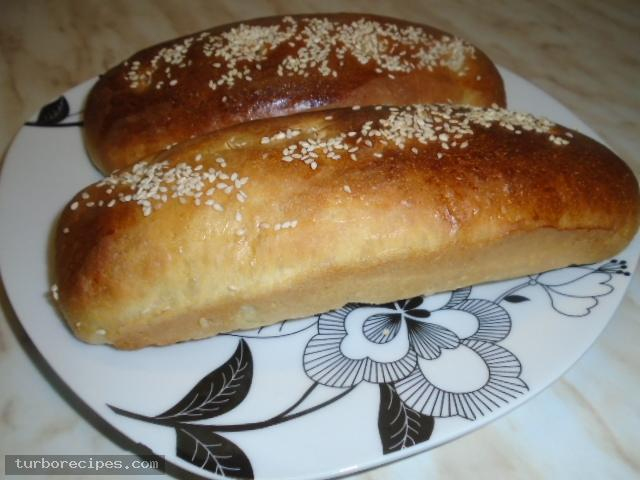 Ψωμάκια για σάντουιτς ή hot dog