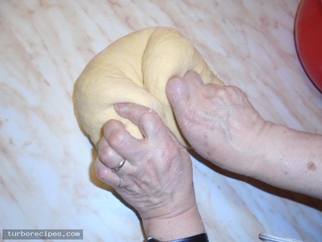 Ψωμάκια για σάντουιτς ή hot dog - Βήμα 15