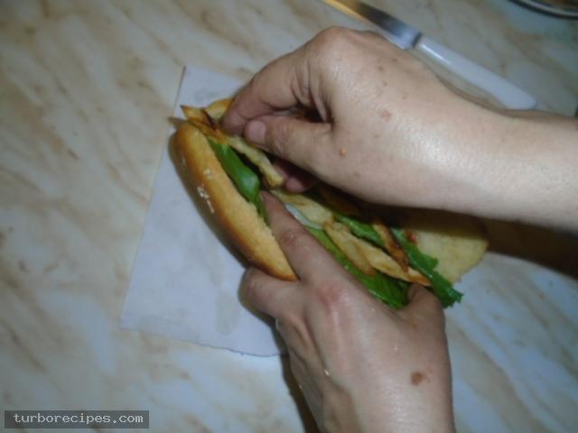 Σπιτικά hot dog - Βήμα 10