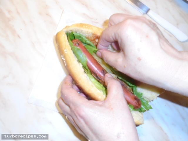 Σπιτικά hot dog - Βήμα 12