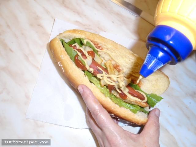 Σπιτικά hot dog - Βήμα 13