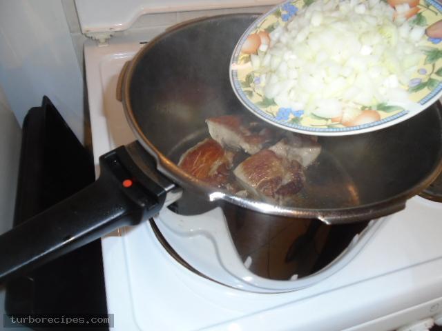 Χοιρινό πρασοσέλινο - Βήμα 5
