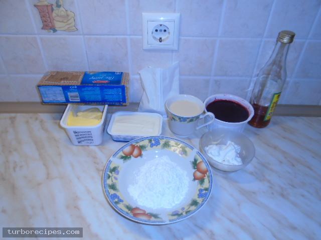 Τσιζ κέικ φράουλα - Υλικά συνταγής