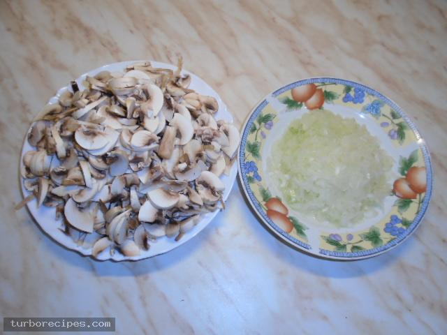 Μανιταρόσουπα - Βήμα 1