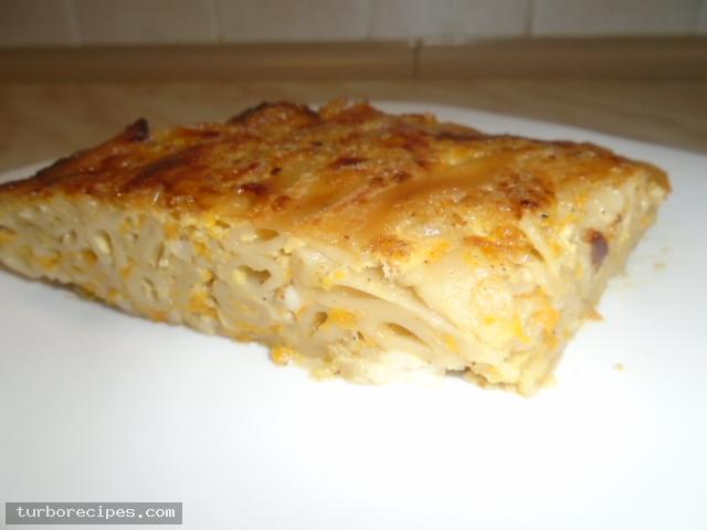 Κολοκυθόπιτα με μακαρόνια και τυρί