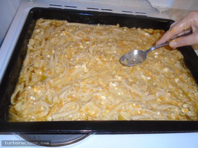 Κολοκυθόπιτα με μακαρόνια και τυρί - Βήμα 26