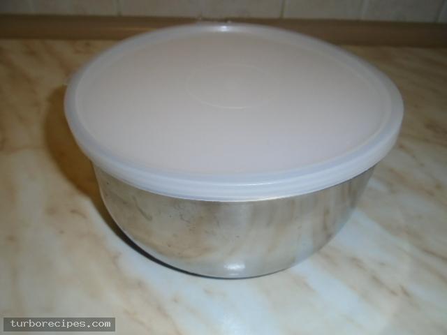 Παγωτό μέλι με καρύδια - Βήμα 11