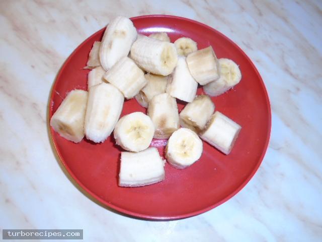 Παγωτό μπανάνα με ζαχαρούχο γάλα - Βήμα 7
