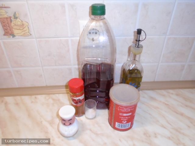 Σπιτική κέτσαπ - Υλικά συνταγής
