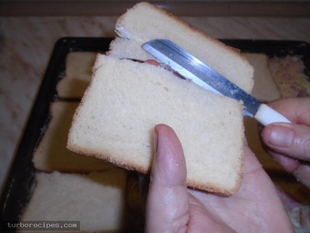 Σουφλέ με ψωμί του τοστ - Βήμα 10