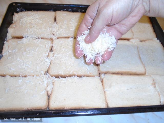 Σουφλέ με ψωμί του τοστ - Βήμα 11