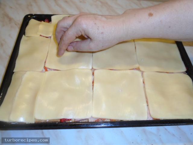 Σουφλέ με ψωμί του τοστ - Βήμα 14