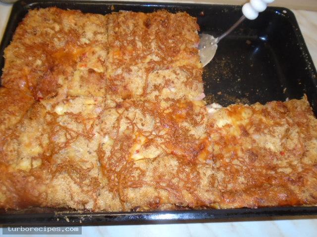Σουφλέ με ψωμί του τοστ - Βήμα 25