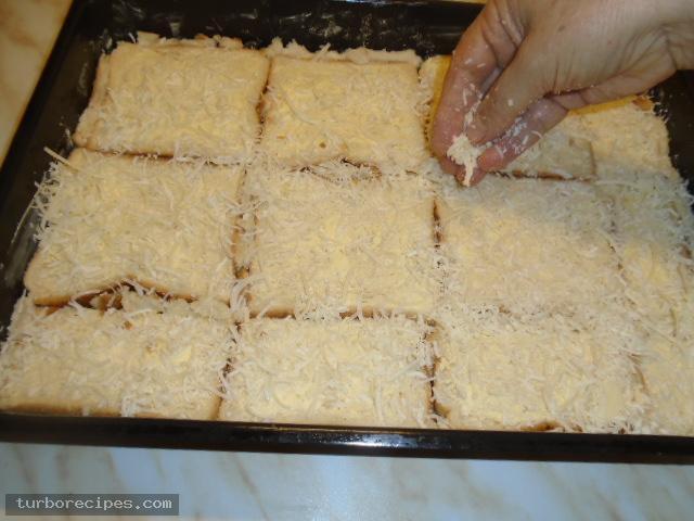 Σουφλέ με ψωμί του τοστ - Βήμα 6