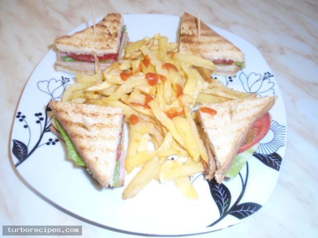 Σπιτικό κλαμπ σάντουιτς