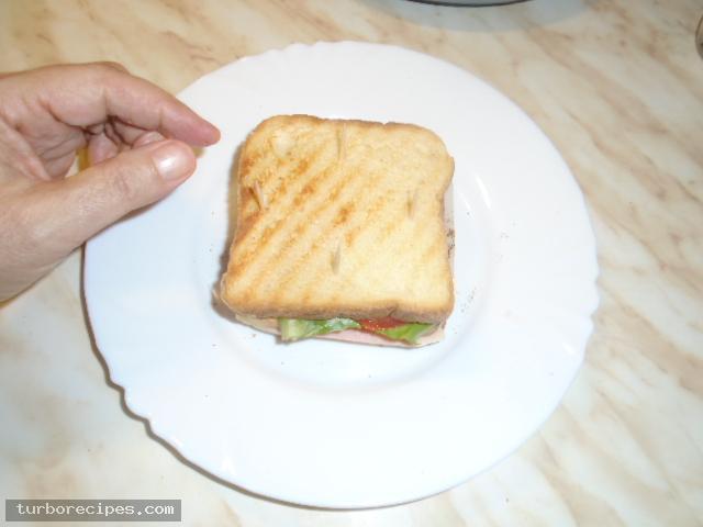 Σπιτικό κλαμπ σάντουιτς - Βήμα 14