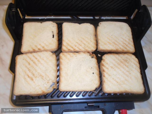 Σπιτικό κλαμπ σάντουιτς - Βήμα 3