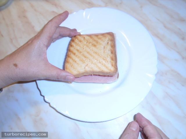 Σπιτικό κλαμπ σάντουιτς - Βήμα 8