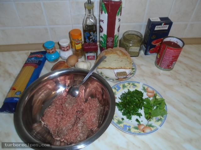 Σουτζουκάκια με μακαρόνια λιγκουίνι - Υλικά συνταγής