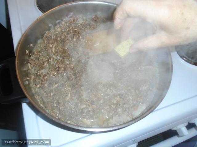 Νηστίσιμος κιμάς μανιταριών - Βήμα 9