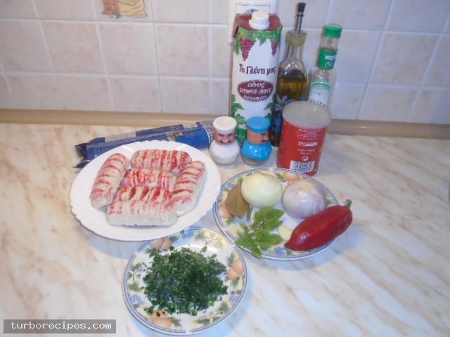 Λιγκουίνι με σουρίμι αστακού - Βήμα 1