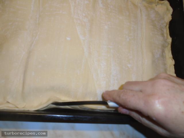 Μηλόπιτα με φύλλο σφολιάτας - Βήμα 16