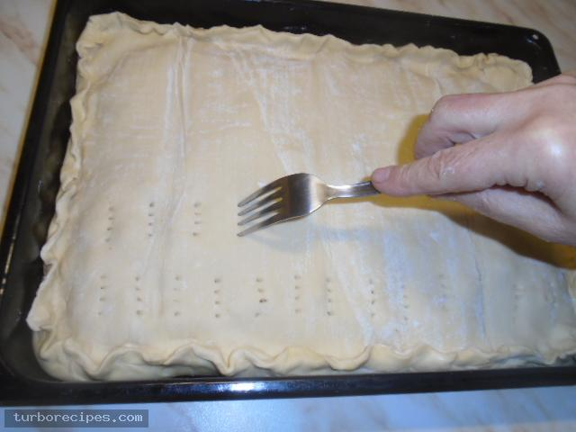 Μηλόπιτα με φύλλο σφολιάτας - Βήμα 17