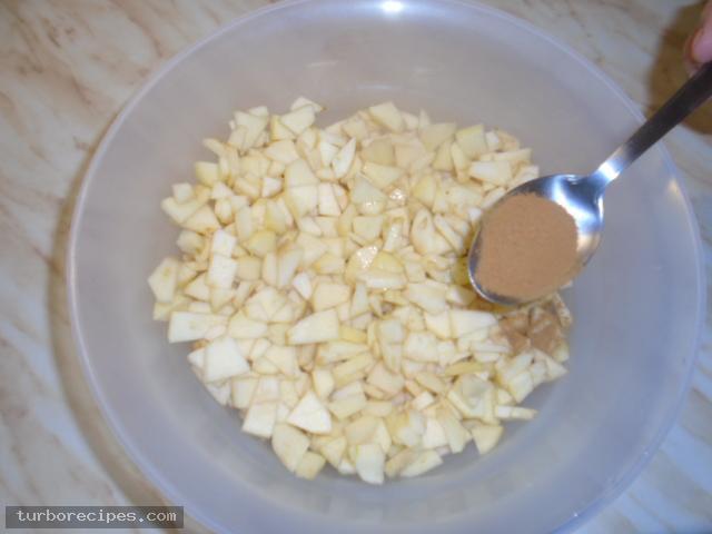 Μηλόπιτα με φύλλο σφολιάτας - Βήμα 3