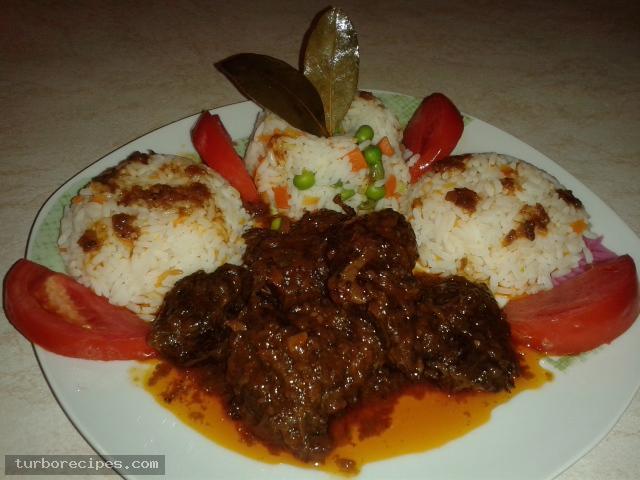 Μεθυσμένο μοσχαράκι με ρύζι