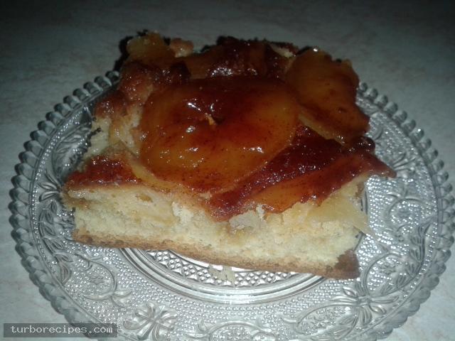 Αναποδογυριστή μηλόπιτα