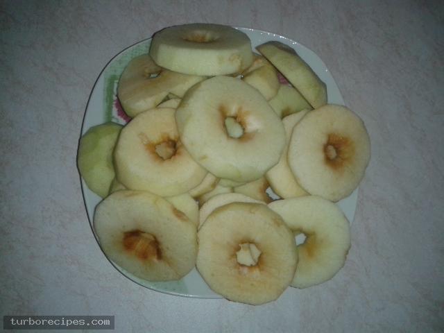 Αναποδογυριστή μηλόπιτα - Βήμα 1