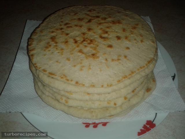 Σπιτικές πίτες για σουβλάκια