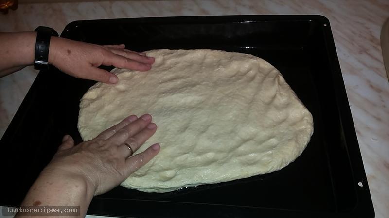 Σπιτική πίτσα - Βήμα 2