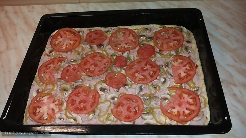 Σπιτική πίτσα - Βήμα 9