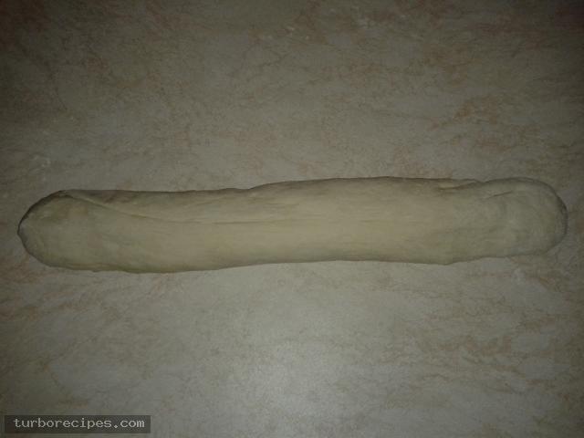 Τηγανόψωμα με τυρί - Βήμα 1