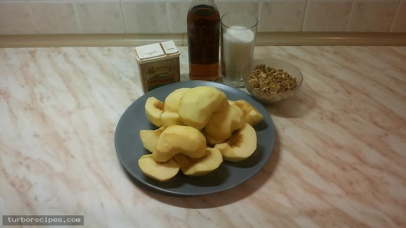Φανταστική νηστίσιμη μηλόπιτα - Υλικά συνταγής