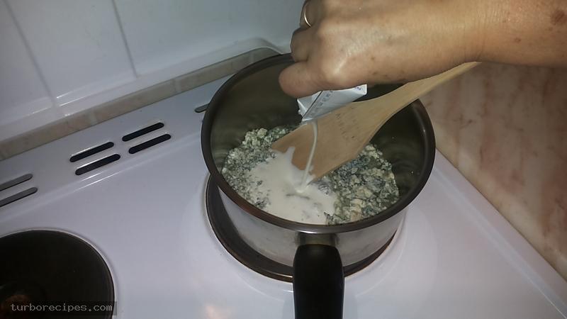Σάλτσα ροκφόρ - Βήμα 2