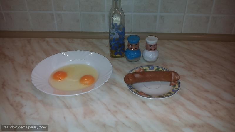 Ομελέτα με λουκάνικα φρανκφούρτης - Υλικά συνταγής
