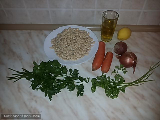 Φασόλια άσπρα - Υλικά συνταγής