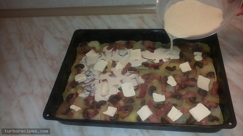 Πατάτες ντοφινουάζ - Βήμα 14