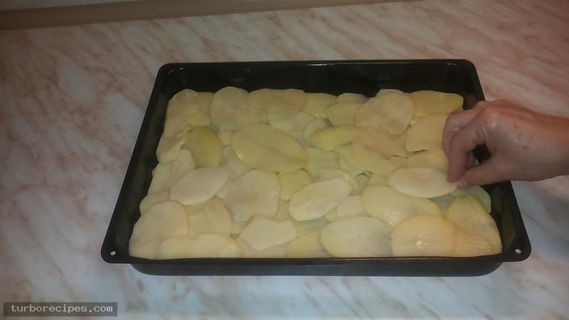 Πατάτες ντοφινουάζ - Βήμα 2