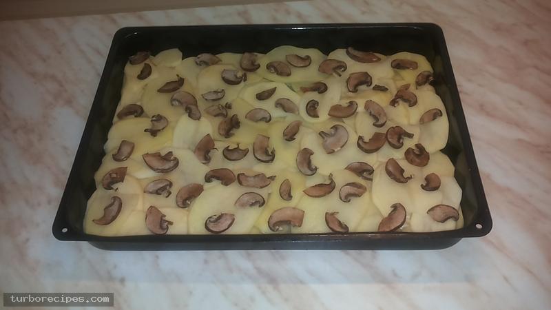 Πατάτες ντοφινουάζ - Βήμα 3