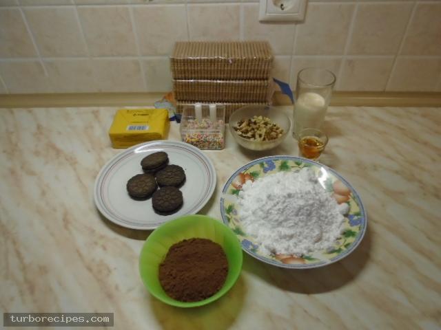 Κορμός κακάο - Υλικά συνταγής
