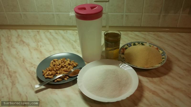 Χαλβάς με χονδρό σιμιγδάλι - Υλικά συνταγής