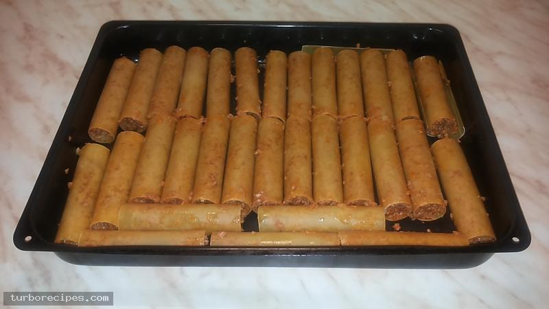 Κανελόνια με κιμά σόγιας - Βήμα 11