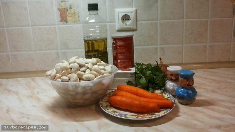 Φασόλια γίγαντες γιαχνί - Υλικά συνταγής